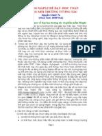 Ứng dụng Maple trong học tập và giảng dạy