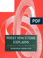 What Spacetime Explains Metaphysical