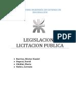 4- Licitación Pública
