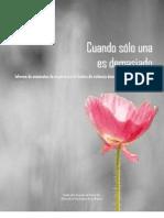 Informe de asesinatos de mujeres por violencia doméstica Puerto Rico 2007