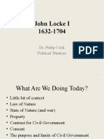 Locke Lecture 1 Second Treatise of Government PC 2019-20 1.1