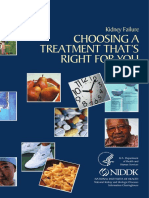 Kidney Failure:Choosing A Treatment That's Right For You
