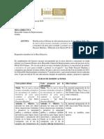 Informe de Subcomisión