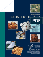 Kidney Failure:Eat Right To Feel Right On Hemodialysis