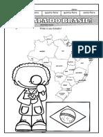 mapas regiões e estados Atividades