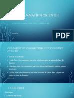 PROGRAMMATION ORIENTEE OBJET.ppsx