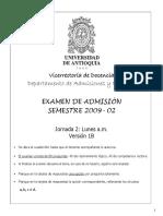 Examen 2009-2 Jornada-2 V1B ok