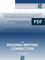 Reading writing connection ch4 ppt