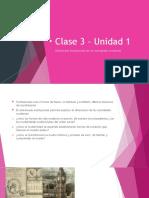 Clase 3 – Unidad 1