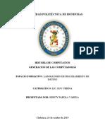 informe procesamiento de datos I