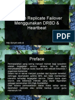 Konsep Replicate Failover Drbd