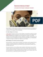 Quién debería financiar la Ciencia en Cuba