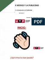 1. INTRODUCCION A LA PUBLICIDAD - SEMANA 2