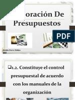 B.- Integración Del Control Presupuestal