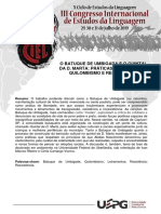 Resumo CIEL 2019 - ST 07 - Lorena Faria