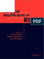 Nick Pidgeon, Roger E. Kasperson, Paul Slovic - The Social Amplification of Risk (2003).pdf