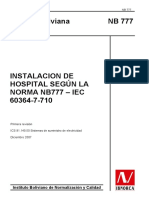 NORMA NB-77  - IEC  HOSPITAL