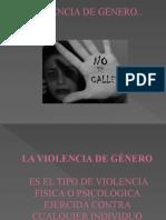 VIOLENCIA DE GÉNERO POWER