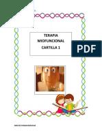 CARTILLAS de terapia miofuncional en paralisis