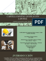 CARTILLA DIGITAL LEGISLACIÓN LABORAL PRIMERA ENTREGA