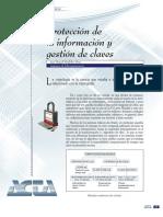 Protección de la informacion y gestion de claves