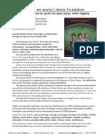 Press Release Theorizing Cesar Chavez Arias_January 2020)