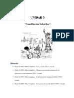 Psicopatologia I Unidad 3 Constitucion Subjetiva