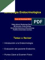 5) SEMIOLOGÍA ENDOCRINA