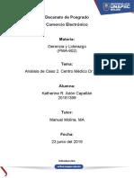 Análisis de Caso 2. Centro Médico Dr. Galeno. Estilo de Liderazgo y Poder de Negociación.docx