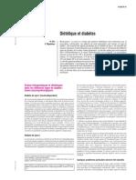 Diététique et diabètes