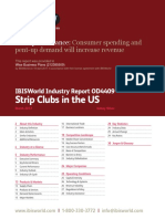 OD4409 Strip Clubs Industry   Report