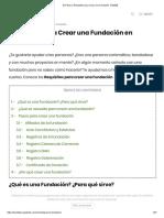 ⊛ Pasos y Requisitos para Crear una Fundación 【2020】.pdf