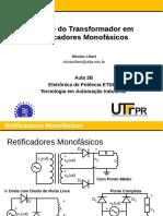 Aula 03B - Analise do Transformador em Retificadores Monofasicos.pdf