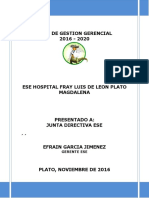 PLAN-DE-GESTION-GERENCIAL-ESE-HOSPITAL-FRAY-LUIS-DE-LEON-2016-2020