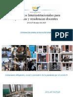 Presentación para Convenios Interinstitucionales