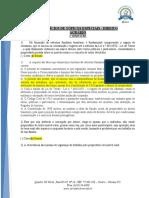 EXERCÍCIOS 1º BIMESTRE DIREITO AGRÁRIO