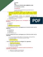 2do Examen Parcial de Toxicologia 2020