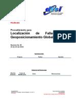 PO-ES-00X Localizacion de Fallas Por Geoposicionamiento Global (GPS)