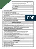 Formato de Inspección de Seguridad y Salud Ocupacional Comité SSO