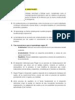 CONSTRUCTIVISMO DE JEAN PIAGET