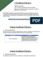 Guión Feedback Efectivo - Mary Griffin modificado