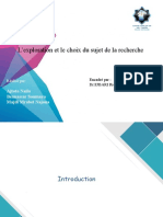 Lexploration et le choix du sujet de la (1).pptx