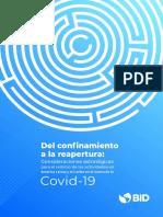 Banco Interamericado de Desarrollo - Del confinamiento a la reapertura Cons. estrategicas en el marco de la COVID 19.pdf