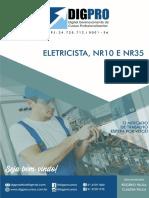 Apostila DigPro_ Eletricista, Nr10 e Nr35