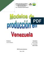 Modos de producción en Venezuela