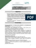 Proyecto Formulacion, administracion y evaluacion de proyectos MGP 2020