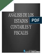Analisis de los estados contables y fiscales