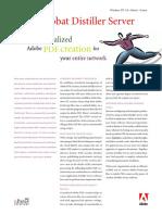 Adobe Acrobat  Distiller Server
