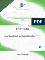 plantilla presentacion feria de proyectos Semifinal
