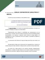 2 Carga de Trabajo Definicion de Carga Fisica y Carga Mental.